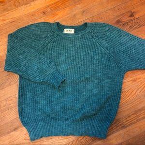 Teal L.L.Bean Sweater